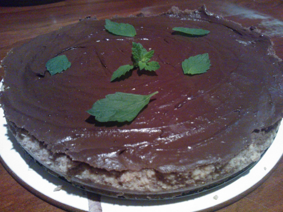 Mint Chocolate, no cheese Cheesecake