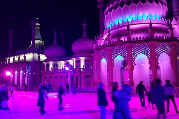 Ice Skating Rink Brighton Pavillion