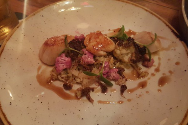 Scallops at Flank