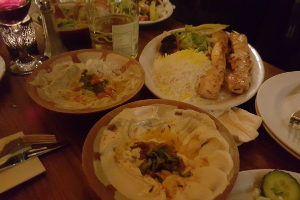 kambis, brighton, western road, middle eastern food, gluten free