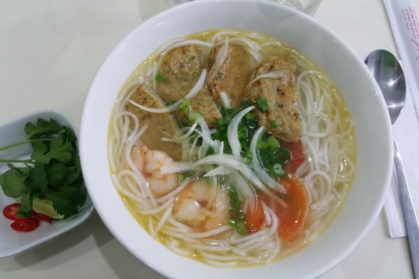 seafood soup, vietnamese, brighton, preston street, gluten free, pescetarian