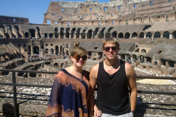 Me and Daz at the Colleseum