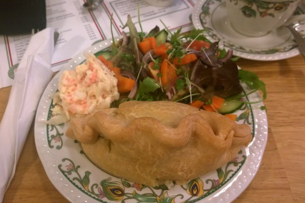 I found a gluten free pasty! At Madeleines Cafe in St Ives