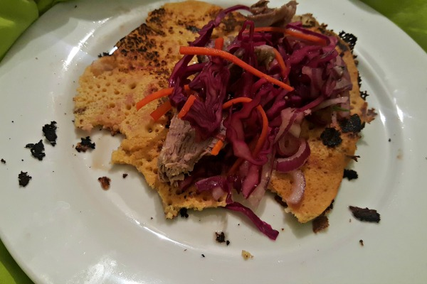 flatbread gram flour lamb gluten free january 2017