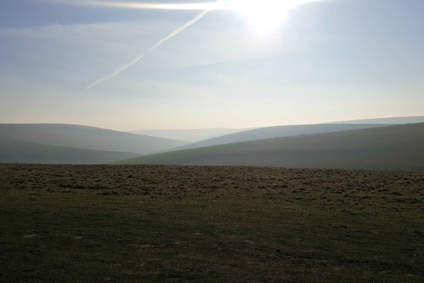 south downs january 2017