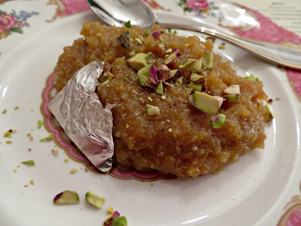 moong-dhal-halwa-at-maharani-supper-club
