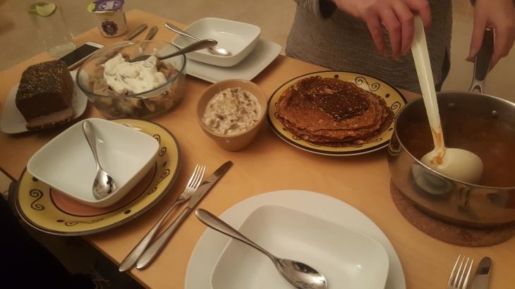 ukrainian food spread