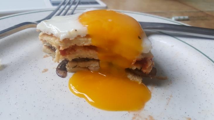 gluten free pancakes yolk porn
