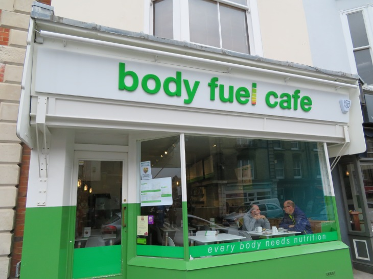 Body Fuel Cafe Exterior