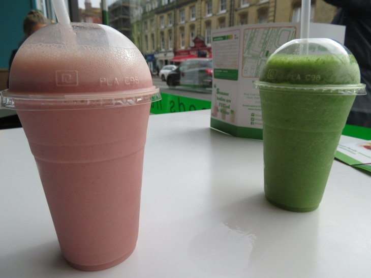 Body Fuel smoothies