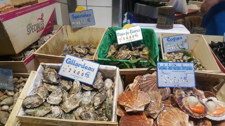 seafood montmartre