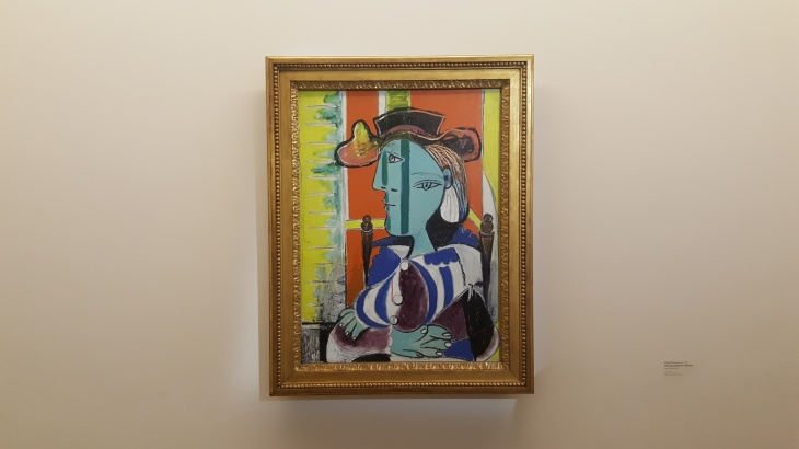 picasso painting paris gallery