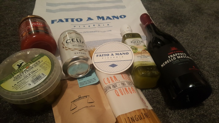 fatto a mano goodie bag