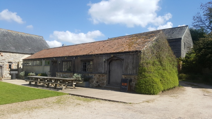 old dairy kitchen barn at trill farm
