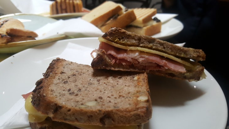 gluten free sandwiches at beyond bread bakery london